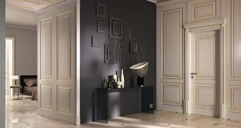 Lacquered Doors
